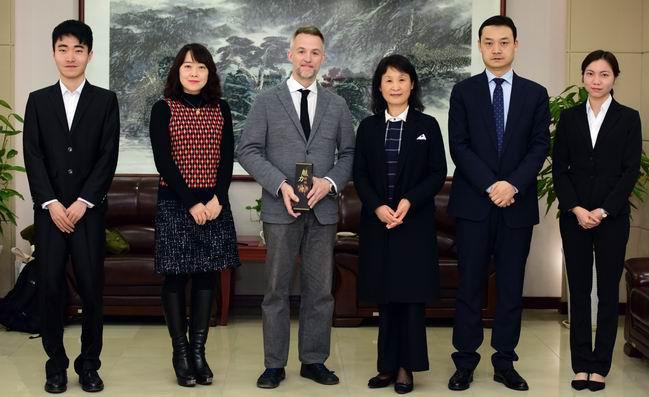 Visite du Conseiller aux Affaires publiques de l'Ambassa...